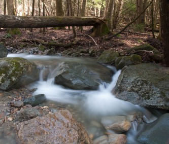 Another slow-shutter shot of Fargo Brook.