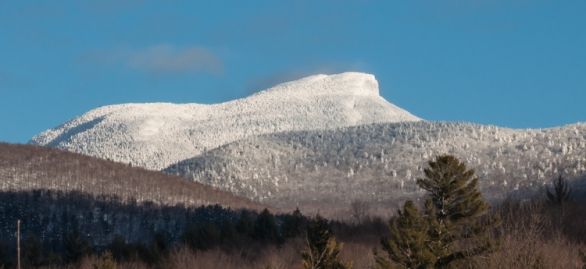 Quintessential Camel's Hump in full sun yesterday afternoon.