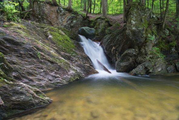 The falls on Cobb Brook.