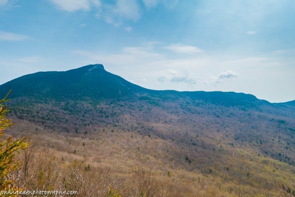 Camel's Hump from Bald Hill as spring arrives